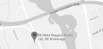 A Map of Remax Niagara